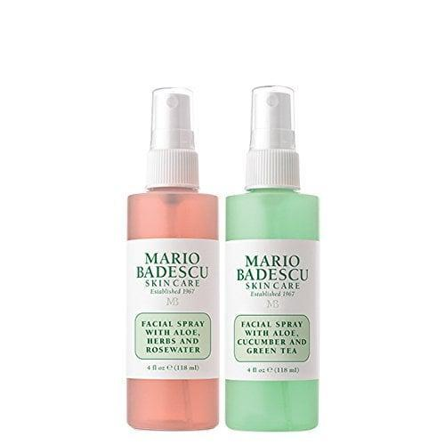 <p>If you haven't tried this <span>Mario Badescu Facial Spray with Rosewater &amp; Facial Spray with Green Tea Duo</span> ($14), you're missing out. These formulas refresh your face or you can even use them as a setting spray.</p>