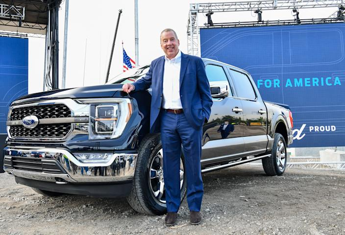 Ford Chairman Bill Ford