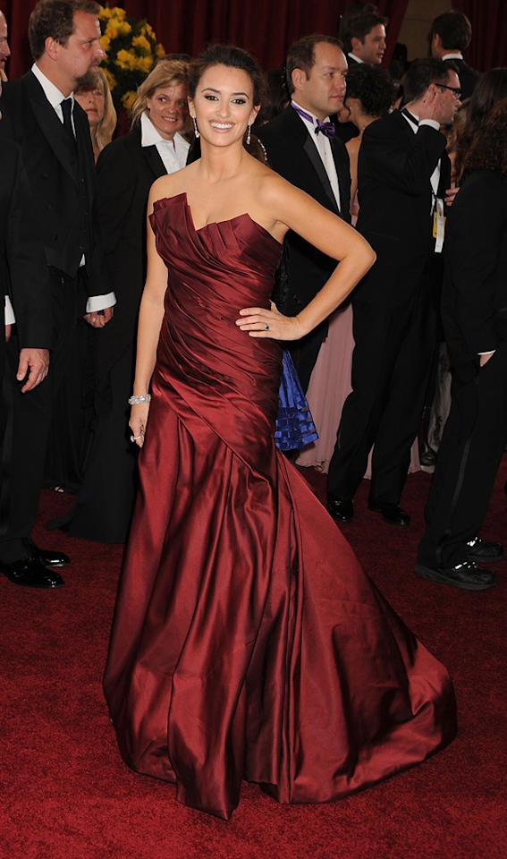 "<a href=""http://movies.yahoo.com/movie/contributor/1800019548"">Penelope Cruz</a> attends the 82nd Annual Academy Awards on March 7, 2010 in Los Angeles, California."