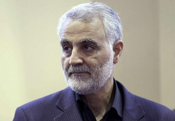 PHOTO: The commander of the Iranian Revolutionary Guard's Quds Force, Gen. Qassem Soleimani, in photo taken on Sept. 14, 2013 by the Iranian Students' News Agency. (Mehdi Ghasemi/ISNA via AFP/Getty Images, FILE)