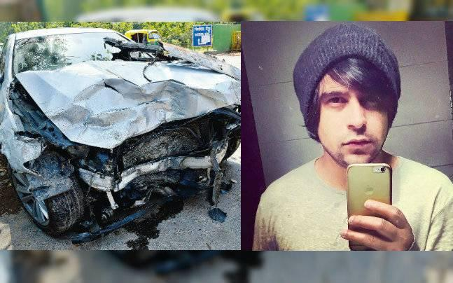 Drunk 28-year-old rammed his BMW into cab and auto, injures driver and a couple