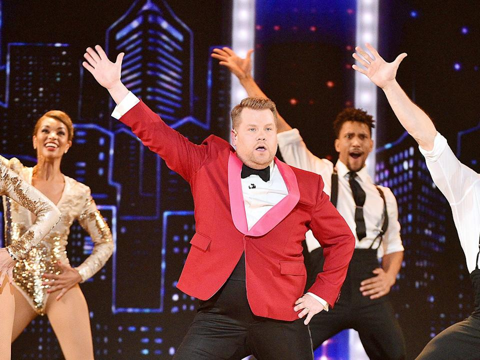 Ludicrousness: James Corden sings and dances while serving as host of the 2019 Tony Awards (Theo Wargo/Getty Images)