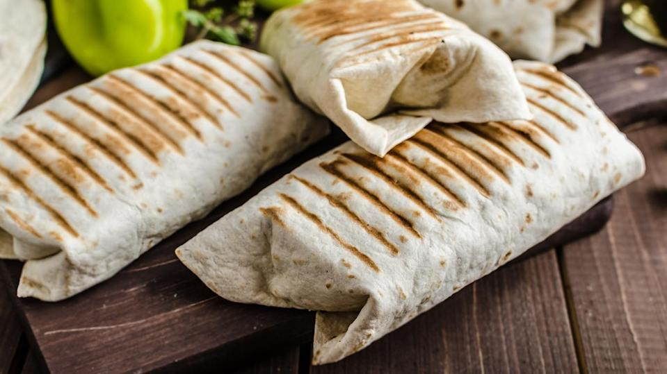 Pan-Fried Burritos