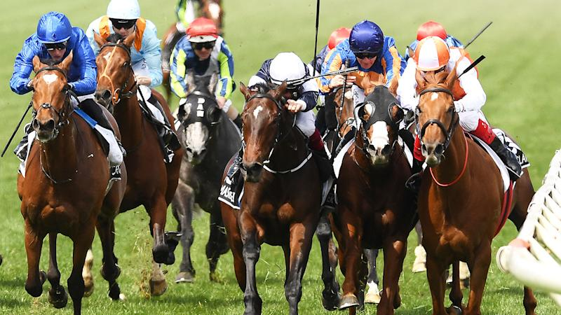 A post-race Melbourne Cup protest saw the order of the first four horses shuffle around.