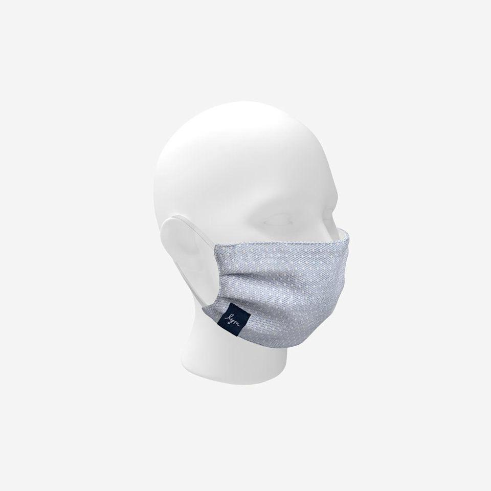 """<p><strong>Love Your Melon</strong></p><p>loveyourmelon.com</p><p><strong>$20.00</strong></p><p><a href=""""https://loveyourmelon.com/collections/all/products/cotton-kids-face-mask"""" rel=""""nofollow noopener"""" target=""""_blank"""" data-ylk=""""slk:Shop Now"""" class=""""link rapid-noclick-resp"""">Shop Now</a></p><p>This face mask is made of two layers of woven cotton, and is designed for ages three and up. The brand donates a face mask to someone in the medical community for each one sold, and so far, has donated over 250,000 reusable masks. It also stands out for its care instructions: <strong>y</strong><strong>ou can machine wash it with hot water and dry it at high heat, which is your best bet for killing germs. </strong></p>"""