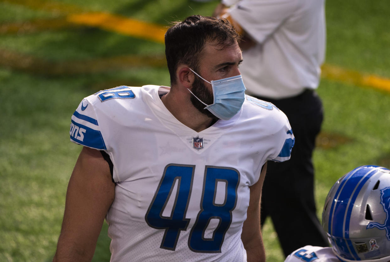 Don Muhlbach with the Lions.