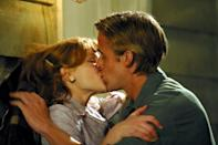 """<p>Would a list like this even make sense without the <em>The Notebook</em>? The 2004 adaptation of Nicholas Sparks's most heart-wrenching novel stars Rachel McAdams and Ryan Gosling as two lovers who must fight against various obstacles throughout their lives that threaten to keep them apart. What begins as a story about the poor boy from the wrong side of the tracks who falls in love with the rich good girl becomes so much more. This movie will have you screaming, """"If you're a bird, I'm a bird,"""" at your screen through your tears. (Just watch out for <a href=""""https://www.glamour.com/story/the-notebooks-ending-is-different-on-netflix-and-people-are-freaking-out?mbid=synd_yahoo_rss"""" rel=""""nofollow noopener"""" target=""""_blank"""" data-ylk=""""slk:that alternative ending"""" class=""""link rapid-noclick-resp"""">that alternative ending</a>.)</p> <p><a href=""""https://www.netflix.com/title/60036227"""" rel=""""nofollow noopener"""" target=""""_blank"""" data-ylk=""""slk:Watch now on Netflix"""" class=""""link rapid-noclick-resp""""><em>Watch now on Netflix</em></a><em>.</em></p>"""