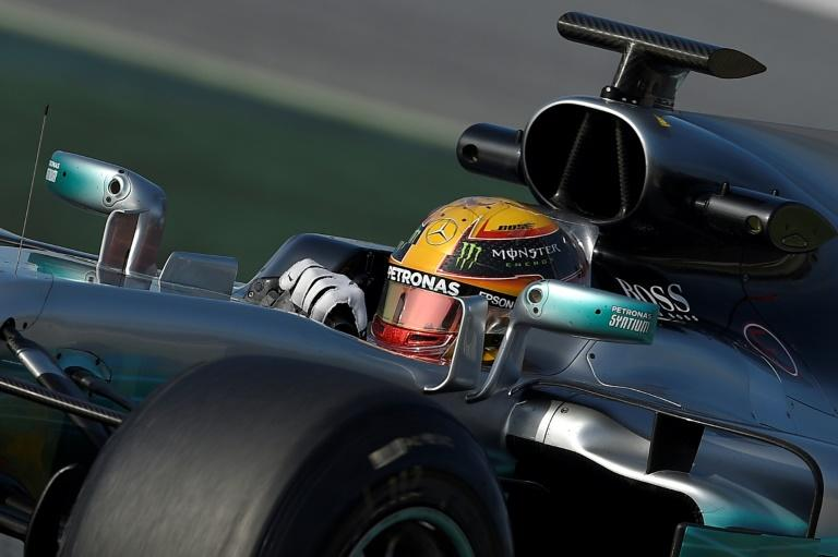 Mercedes AMG Petronas F1 Team's British driver Lewis Hamilton  believes he can take inspiration from Barcelona ahead of the season opening Grand Prix in Melbourne