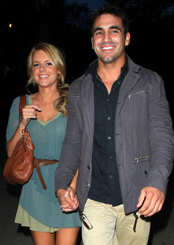 """""""The Bachelorette's"""" Ali Fedotowsky chose her man Monday, and Roberto Martinez responded with a ring! """"Roberto has this way of making me feel like I am the only person in the world. Not only the only woman in the world, the only person in the world when we are together,"""" said Ali. Awww. Jackson Lee/<a href=""""http://www.splashnewsonline.com"""" target=""""new"""">Splash News</a> - August 4, 2010"""