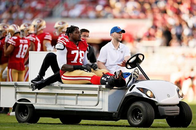 49ers hope painful summer isn't followed by another injury-marred season