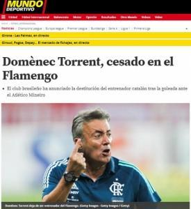 Domènec Torrent - Flamengo
