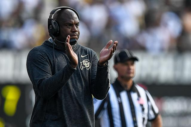 Though he initially turned down interest in the job, Mel Tucker is headed to Michigan State after all. (Dustin Bradford/Getty Images)