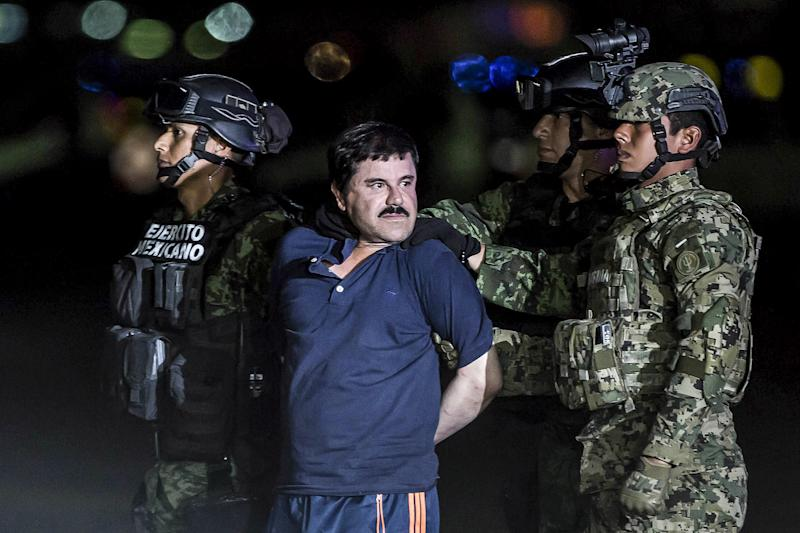 El Chapo Claims He's Kept Locked in His Jail Cell for 23 Hours a Day