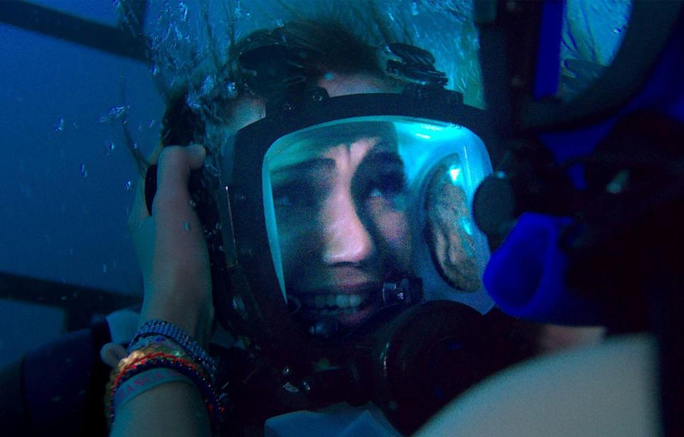 <p>Before Moore landed <em>This Is Us</em>, she starred in the shark-thriller, <em>47 Meters Down</em>. In the film, her character, Lisa, decides to go cage-diving in shark-infested waters with her sister, Claire. Things head south when the cage accidentally detaches from the rig, and they end up, yep, you guessed it, <em>47 Meters Down</em>. Surrounded by a bunch of great whites, they must race to the surface before their air runs out. Yikes!</p>