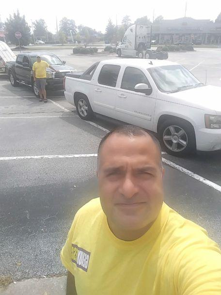 PHOTO: A volunteer who has signed up with the CrowdSource Rescue app, one of about 950 offering their help offering their resources on the app during Hurricane Florence. (Geaux Rescue)