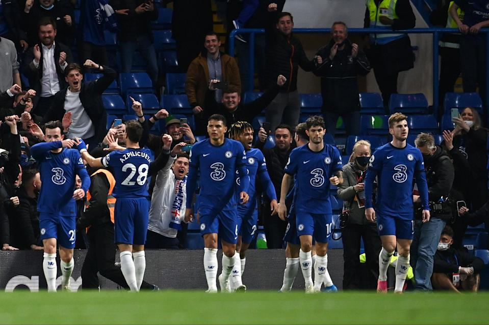 <p>Chelsea have a top-four finish in their sights</p> (Getty Images)