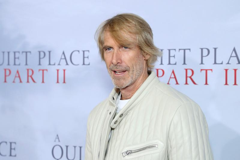 """NEW YORK, NEW YORK - MARCH 08: Michael Bay attends the """"A Quiet Place Part II"""" World Premiere at Rose Theater, Jazz at Lincoln Center on March 08, 2020 in New York City. (Photo by Arturo Holmes/WireImage,)"""