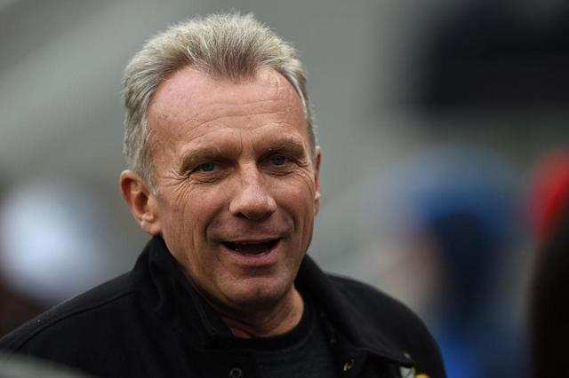 <p>No. 16: University of Notre Dame<br>Known UHNW alumni: 277<br>Combined wealth: $44 billion<br>Former grad and San Francisco 49ers quarterback Joe Montana is seen here.<br>(Photo by Thearon W. Henderson/Getty Images) </p>