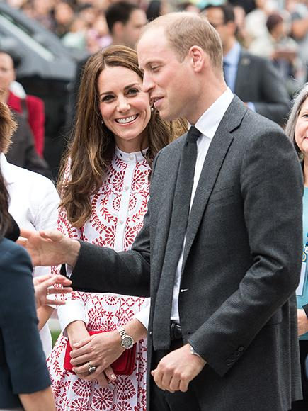 Will and Kate in Vancouver.