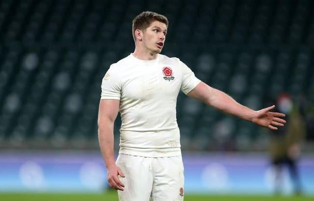 Owen Farrell struggled against Scotland