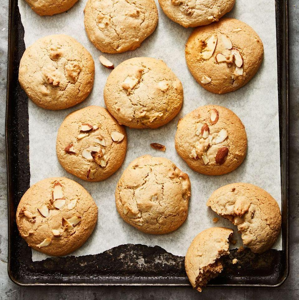 """<p>These under-30-minute treats will become a new family favorite once you whip up a batch.</p><p><em><a href=""""https://www.goodhousekeeping.com/food-recipes/a34659654/chunky-nut-butter-cookies-recipe/"""" rel=""""nofollow noopener"""" target=""""_blank"""" data-ylk=""""slk:Get the recipe for Chunky Nut Butter Cookies »"""" class=""""link rapid-noclick-resp"""">Get the recipe for Chunky Nut Butter Cookies »</a></em></p>"""