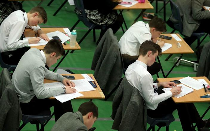Labour is calling for a delays in next year's exams - PA