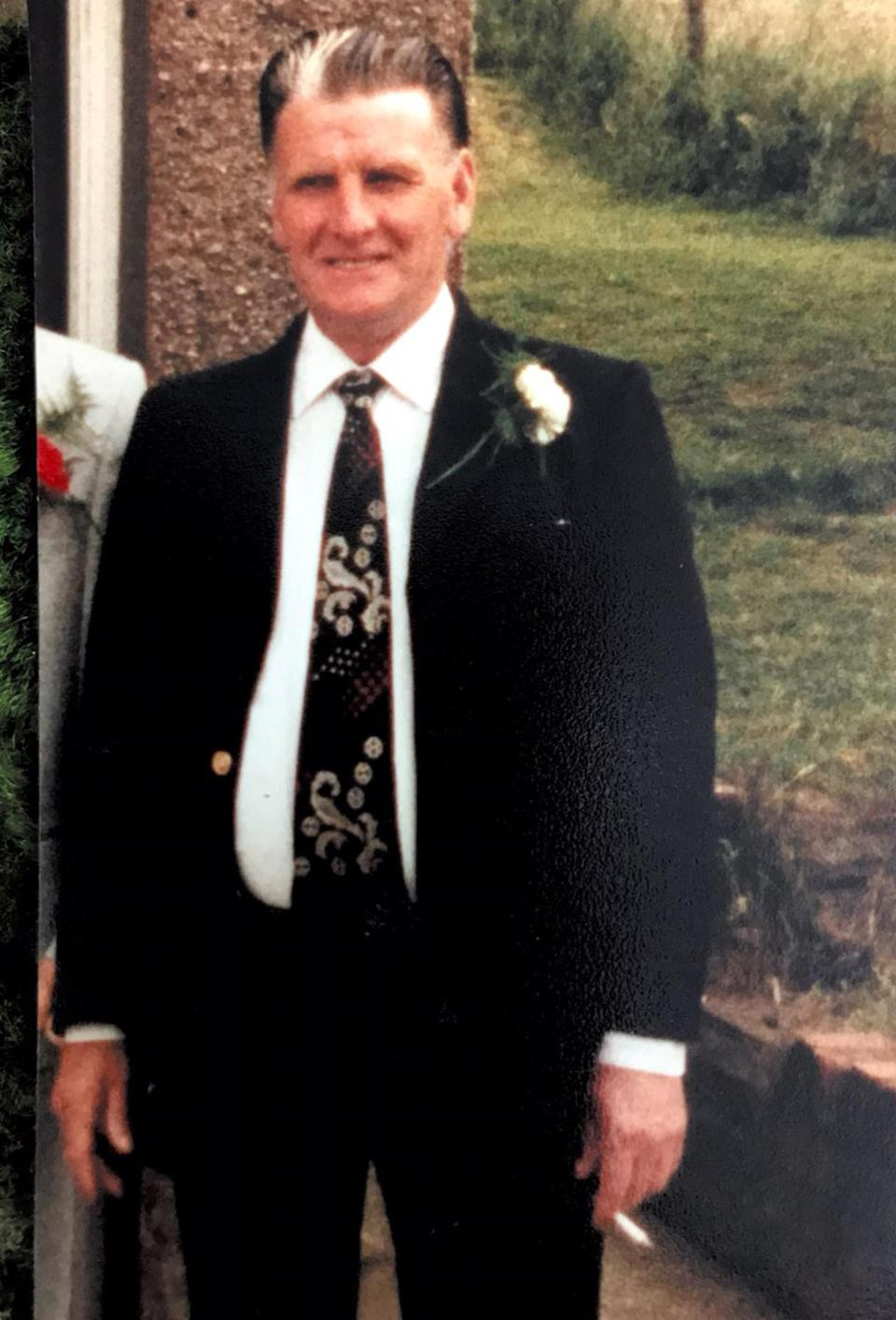 Mr Bradford's death and that of several other residents at the Brithdir Nursing Home is the subject of an inquest in Gwent (Family handout/PA).