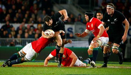 Rugby Union - New Zealand All Blacks v British and Irish Lions - Lions Tour - Eden Park, Auckland, New Zealand - June 24, 2017. New Zealand's Ben Smith in action. REUTERS/David Gray