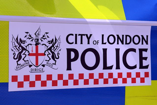 City of London Police was tipped off by Olver's bank. (Getty)