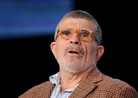 """Writer, director and executive producer Mamet takes part in a panel discussion of """"Phil Spector"""" in Pasadena, California"""