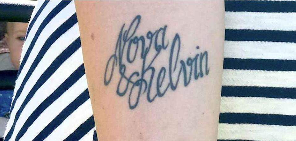 A mother decided to rename her son after a tattoo artist accidentally spelled his name wrong. Photo: blt.se