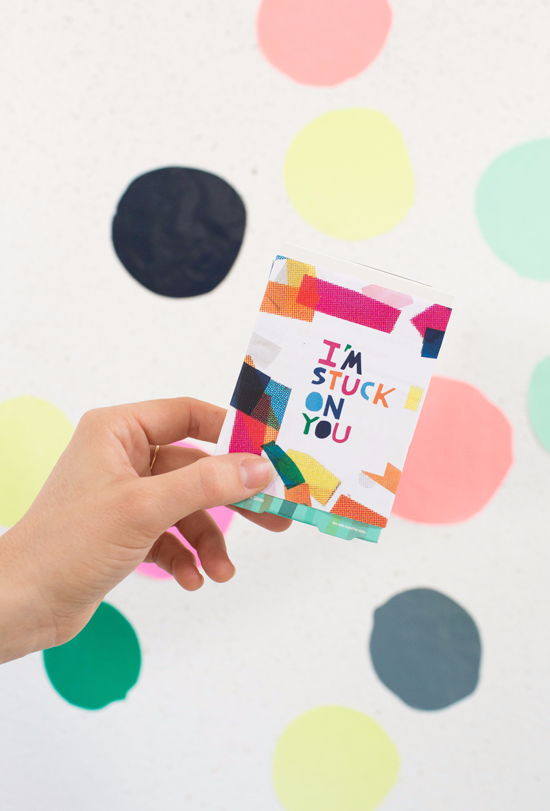 "<p>Are you stuck on your boo? Then let them know it with this adorable Band-Aid-themed Valentine's Day Card made using an old box of Band-Aids. You can even include the bandages—for all your adventures throughout the year!</p><p><strong>See more at <a href=""https://ohjoy.com/my_weblog/2020/02/vdayinspo.html"" rel=""nofollow noopener"" target=""_blank"" data-ylk=""slk:Oh Joy!"" class=""link rapid-noclick-resp"">Oh Joy!</a>.</strong></p><p><a class=""link rapid-noclick-resp"" href=""https://go.redirectingat.com?id=74968X1596630&url=https%3A%2F%2Fwww.walmart.com%2Fip%2FBand-Aid-Plastic-Adhesive-Bandage-Size-3-4-X-3-Inches-60-Ea%2F340019295&sref=https%3A%2F%2Fwww.thepioneerwoman.com%2Fhome-lifestyle%2Fcrafts-diy%2Fg35084525%2Fdiy-valentines-day-cards%2F"" rel=""nofollow noopener"" target=""_blank"" data-ylk=""slk:SHOP BAND-AIDS"">SHOP BAND-AIDS</a></p>"