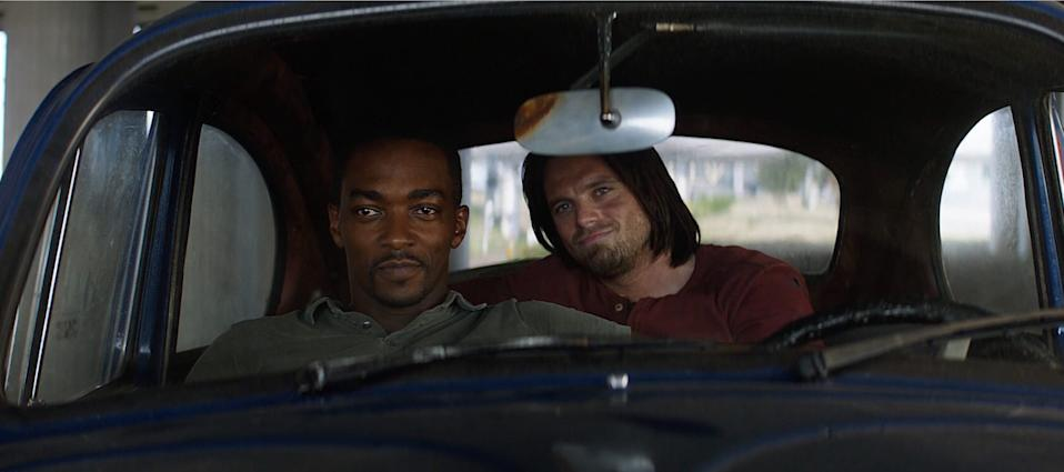 'The Falcon and the Winter Soldier' series will see Anthony Mackie and Sebastian Stan reprise their MCU roles (Credit: Marvel)
