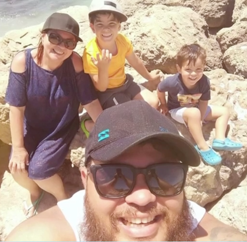 The family was travelling home from a day trip down south in Western Australia. Source: 7 News