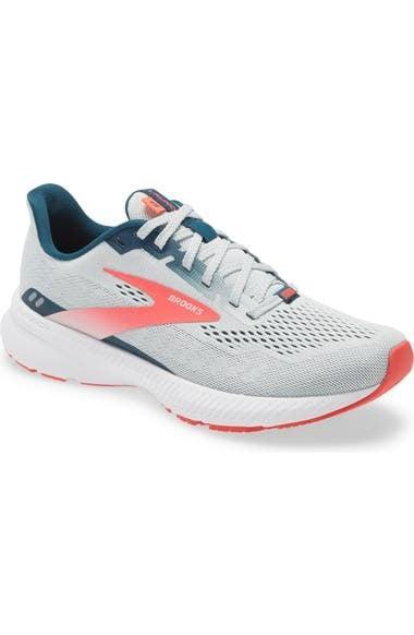 <p>The <span>Brooks Launch 8 Running Shoe</span> ($100) not only features a comfy and supportive sole, but the ventilated mesh upper makes it a breathable choice too.</p>