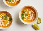 "<a href=""https://www.bonappetit.com/recipe/vegan-butternut-squash-soup?mbid=synd_yahoo_rss"" rel=""nofollow noopener"" target=""_blank"" data-ylk=""slk:See recipe."" class=""link rapid-noclick-resp"">See recipe.</a>"