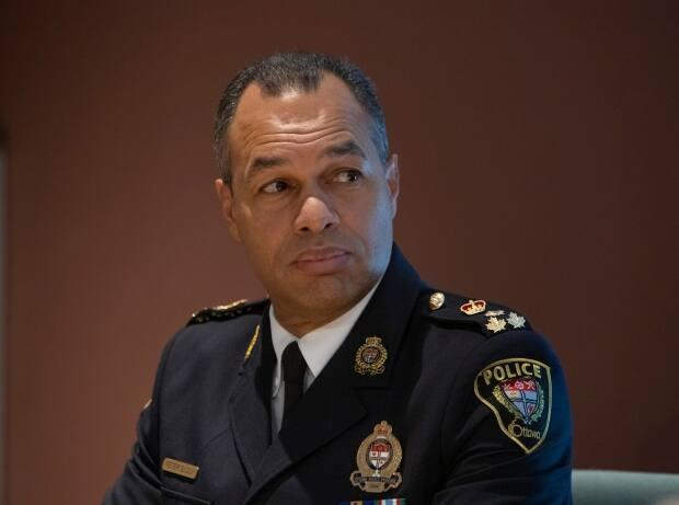 Ottawa police Chief Peter Sloly says Ottawa Police Service will be redirecting resources from the School Resource Officer program to other initiatives. (Fred Chartrand/Canadian Press - image credit)
