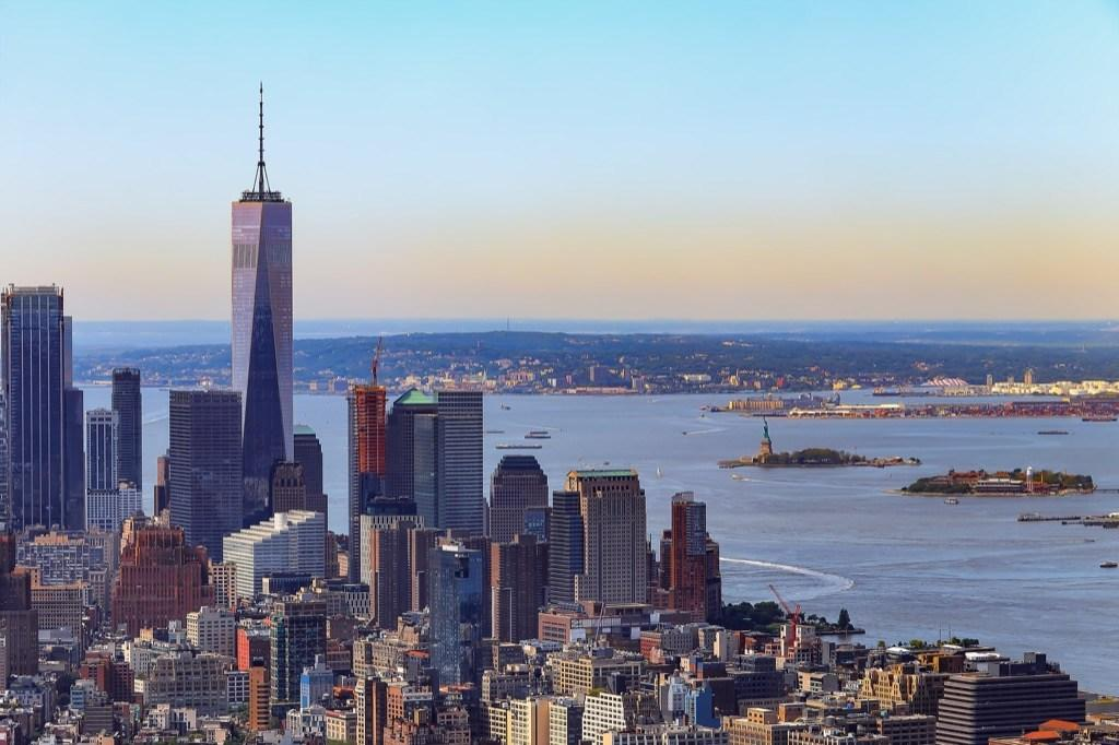 """The architects for One World Trade Center took into account everything that the structure replacing the Twin Towers after the devastating events of 9/11 stood for. With that in mind, the height of the building itself is <a href=""""https://www.cnn.com/2013/11/22/us/one-world-trade-center-fast-facts/index.html"""" target=""""_blank"""">exactly 1,362 feet</a>, the height of the original South Tower, while the height of the building combined with the height of the observation deck stretches to 1,368 feet, the height of the original North Tower."""