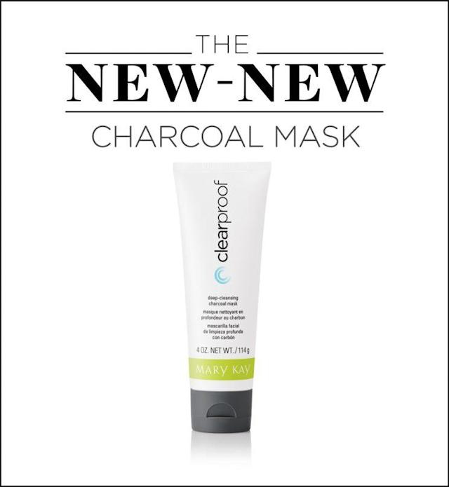 Acharcoal mask that won't do more harm than good to your skin. (Photo: Mary Kay)