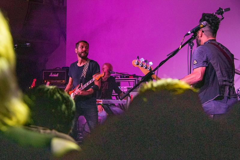 With 25 years under their belt, Feeder has kept true to its identity, said frontman Grant Nicholas (left). (PHOTO: Dhany Osman / Yahoo News Singapore)