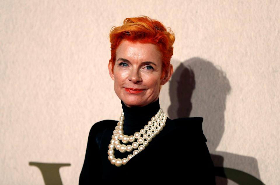 Costume designer Sandy Powell arrives at the UK Premiere of The Favourite during the London Film Festival, in London, Britain October 18, 2018. REUTERS/Peter Nicholls