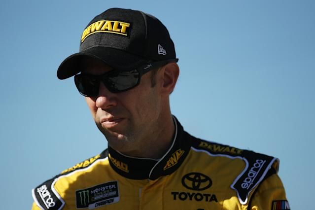 "<a class=""link rapid-noclick-resp"" href=""/nascar/sprint/drivers/81/"" data-ylk=""slk:Matt Kenseth"">Matt Kenseth</a> will be back in the Cup Series starting May 12 at Kansas. (Getty)"