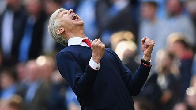 <p>You've gotta feel a little bit good for Arsene Wenger.</p> <br><p>After all the crap he's taken this season from his club's fans and the media, his team finally turned up and earned him a result he can be proud of in the semi-final with City. The Gunners rode their luck at times, but sealed a date with Chelsea at Wembley after extra time.</p> <br><p>Would winning the FA Cup (again) be the perfect way for Wenger to say goodbye? Probably, but it still seems like he's going to stay on.</p>