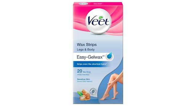 Veet Wax Strips with Easy Grip for Sensitive Skin