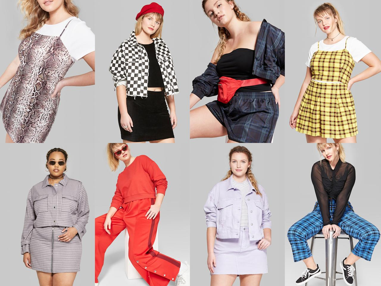 <p>Target's new Wild Fable line offers inclusive sizing, affordable prices, and on-trend fall styles. (Photo: Courtesy of Target) </p>