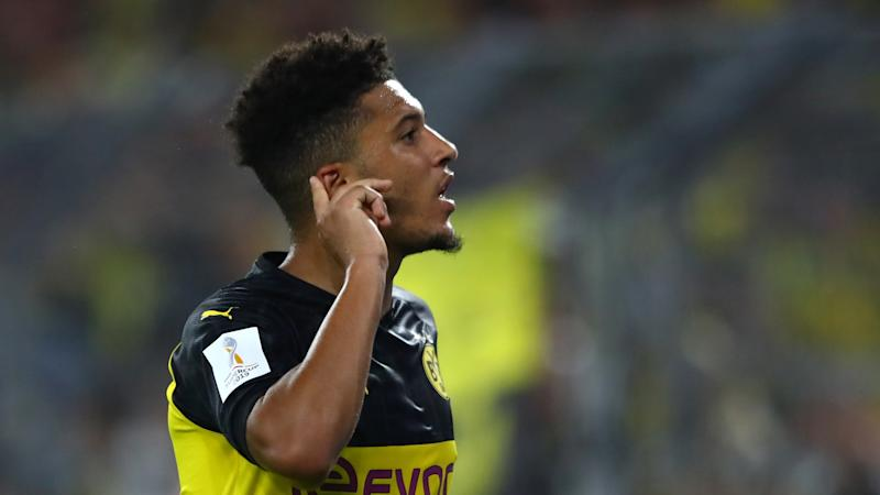 Sancho quizzed on Man Utd transfer 'noise' as Borussia Dortmund winger targets two Ballons d'Or