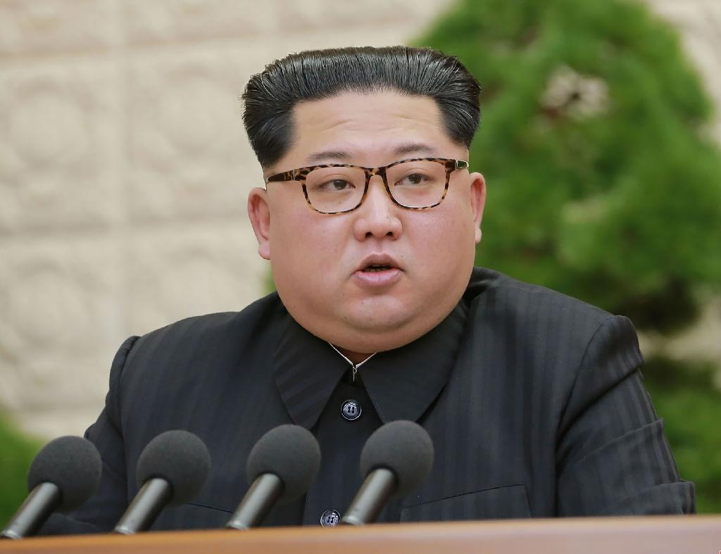 Markets were subdued despite North Korean leader Kim Jong Un on Saturday calling a halt to nuclear tests and intercontinental missile launches (AFP Photo/-)
