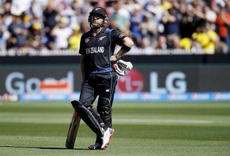 Cricket-Early McCullum exit a huge blow for New Zealand