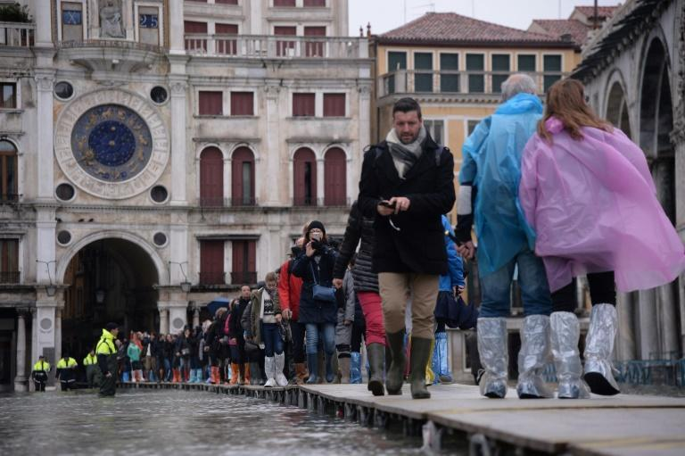 Hotels reported cancelled reservations, some as far ahead as December, following the widespread diffusion of images of Venice underwater
