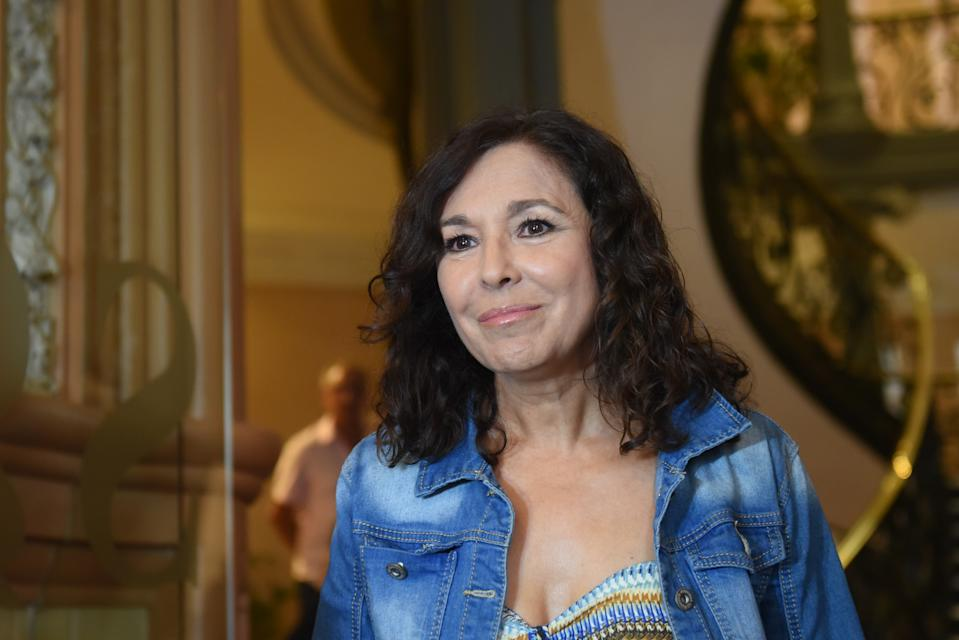 MADRID, SPAIN - SEPTEMBER 09: Isabel Gemio attends the Camilo Sesto Chapel at Spanish Copyright Association on September 09, 2019 in Madrid, Spain. (Photo by Beatriz Velasco/Getty Images)